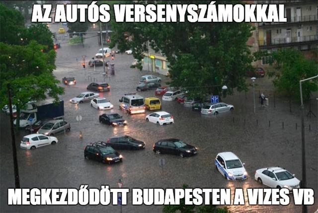 Égszakadás, földindulás: özönlenek a mémek a tegnapi időjárásról