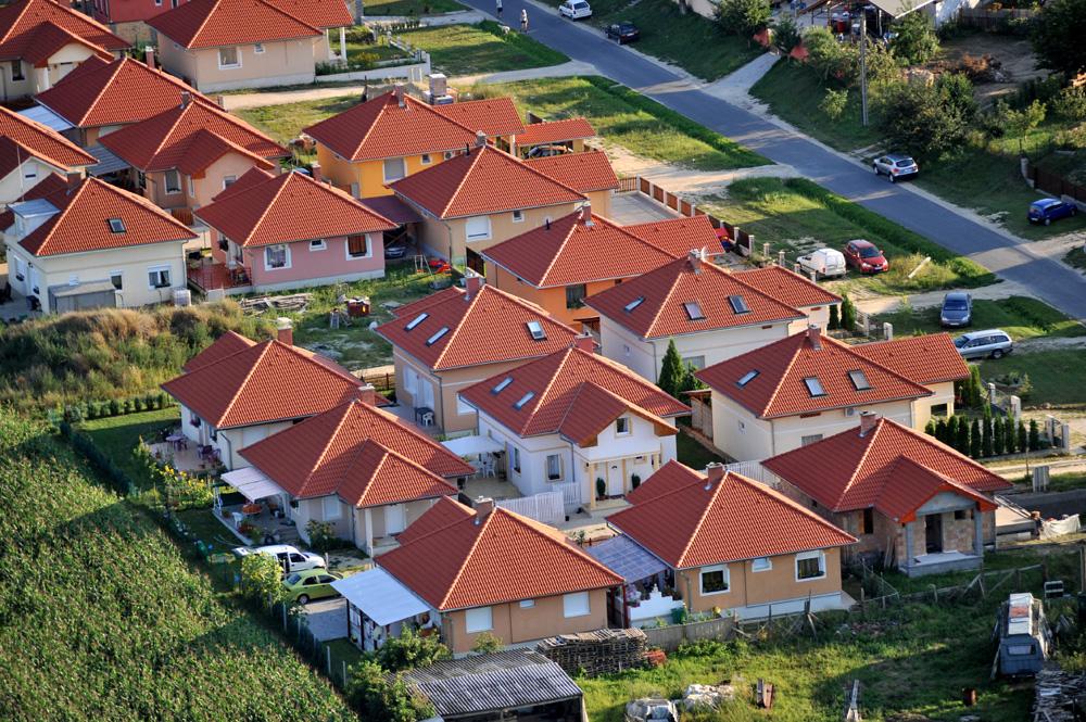 Lakópark Siófok közelében. MTI Fotó: H. Szabó Sándor