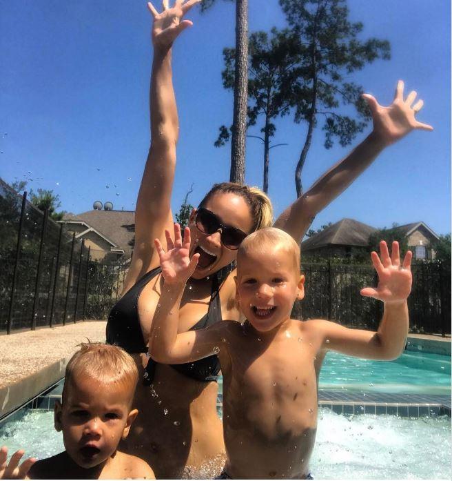 Polgár Kriszta: A fiaim is imádnak Amerikában élni