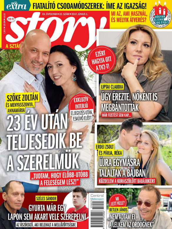 Szőke Zoltán és manyasszonya: 23 éve tudom, hogy elveszem Annamáriát