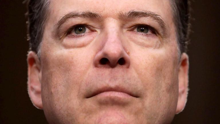 James Comey, az FBI volt igazgatóját a nyílt meghallgatás után zárt ajtók mögött is kérdezi majd a Szenátus hírszerzési bizottsága (Fotó: Getty Images)