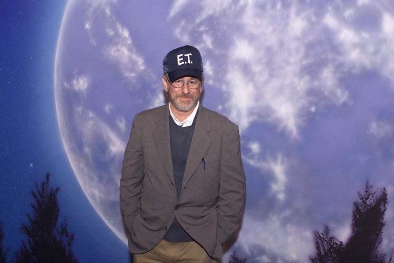 Steven Spielberg, az E.T. rendezője a 2002-es jubileumi bemutatón (Fotó: Getty Images)