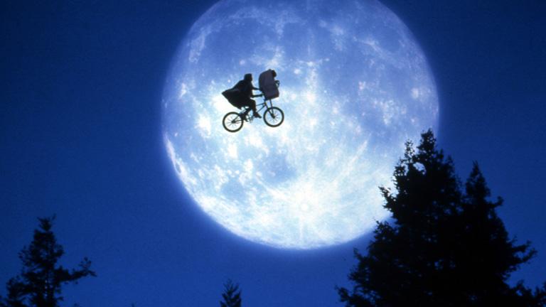A film egyik legjellegzetesebb képkockája, a nyolcvanas évek egyik jelképe (Fotó: Getty Images)