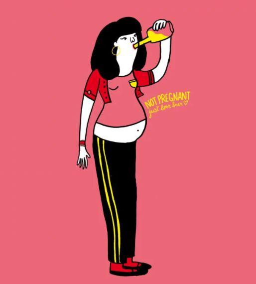 Izzadás, szőrtelenítés, fogyókúra - vicces nyári rajzok a női parákról