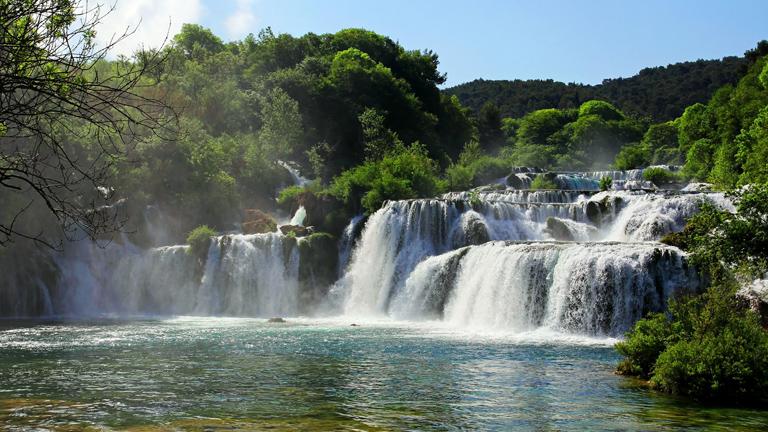 Vízesés a Krk Nemzeti Parkban (Fotó: Thinkstock)