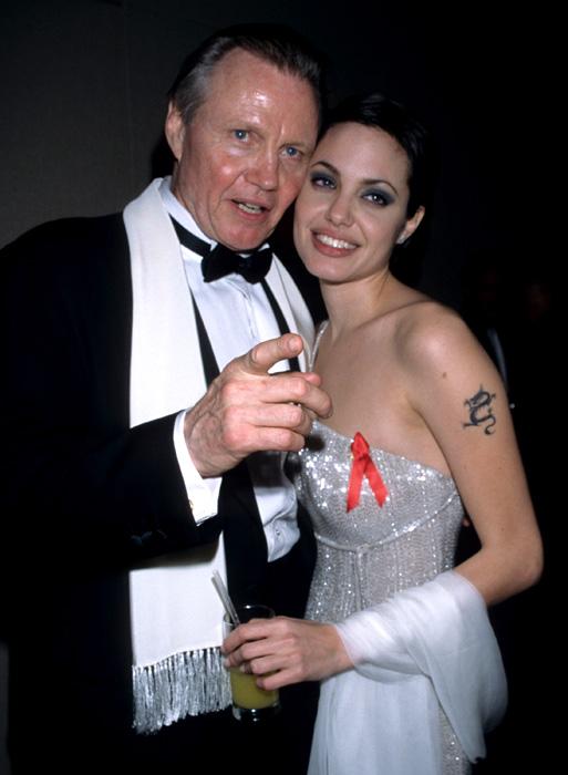 Jon Voight és Angelina Jolie (Fotó: Getty Images)