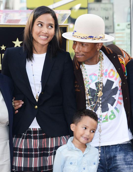 Helen, Pharrell és a ki Rocket (Fotó: Profimedia)