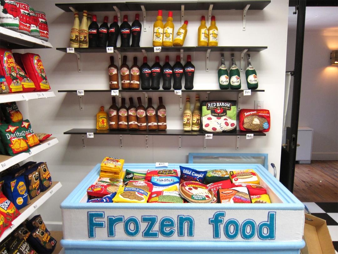 Ebben az élelmiszerboltban semmi nem ehető, mégis mindent eladtak már