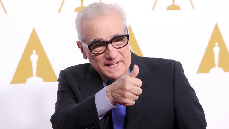 Ez neked szól, ha jól ejted ki Scorsese mester nevét (Fotó: Getty Images)