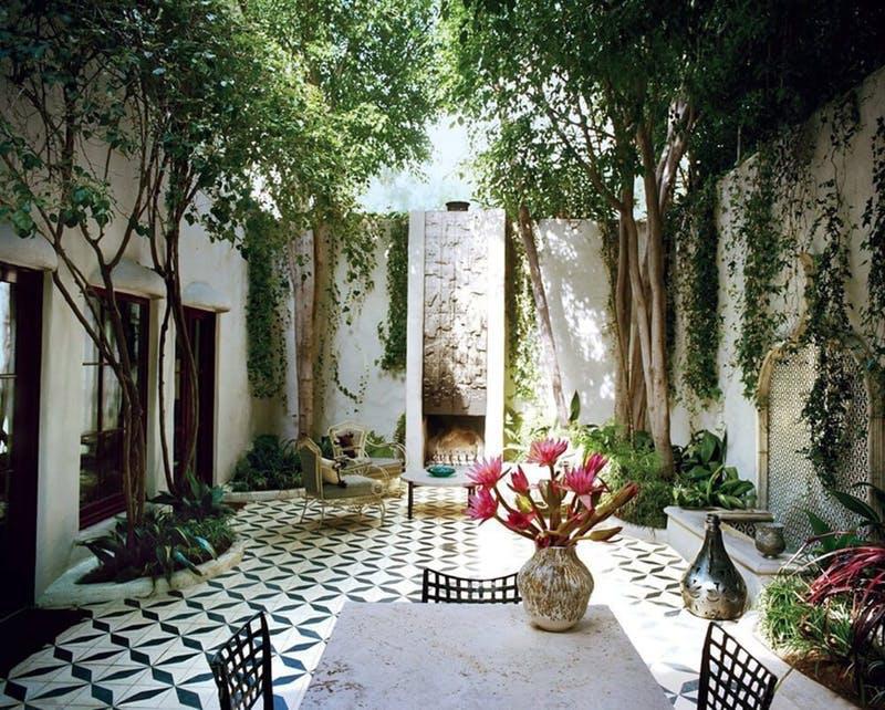8 csodás kültéri csempeburkolat, amitől egy marokkói palotában érezheted magad
