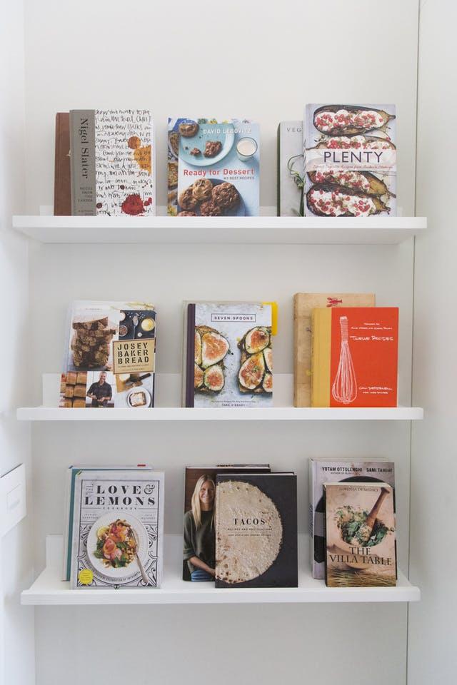 5 okos ötlet, hogy tárold a kedvenc szakácskönyveidet