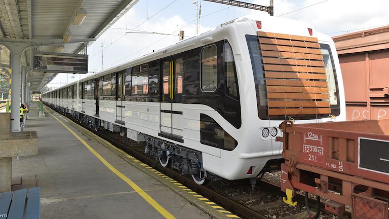Az új 3-as metró egyelőre tétlen (fotó: MTI / Máthé Zoltán)