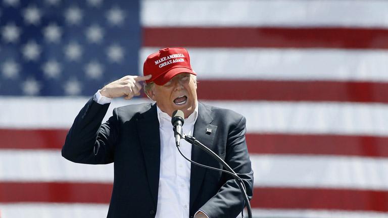 Messzire gurult Donald Trump gyógyszere (Fotó: Getty Images)