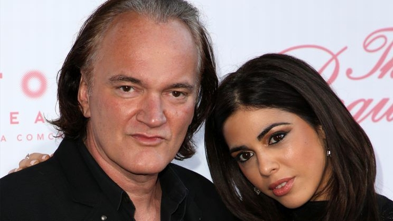Quentin Tarantino és Daniella Pick (forrás: Tumblr)