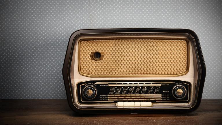 Egy régi rádió (fotó: Tumblr)