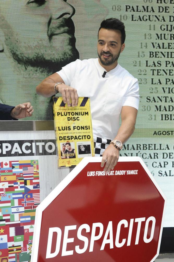 Luis Fonsi a Despacito óta világsztár