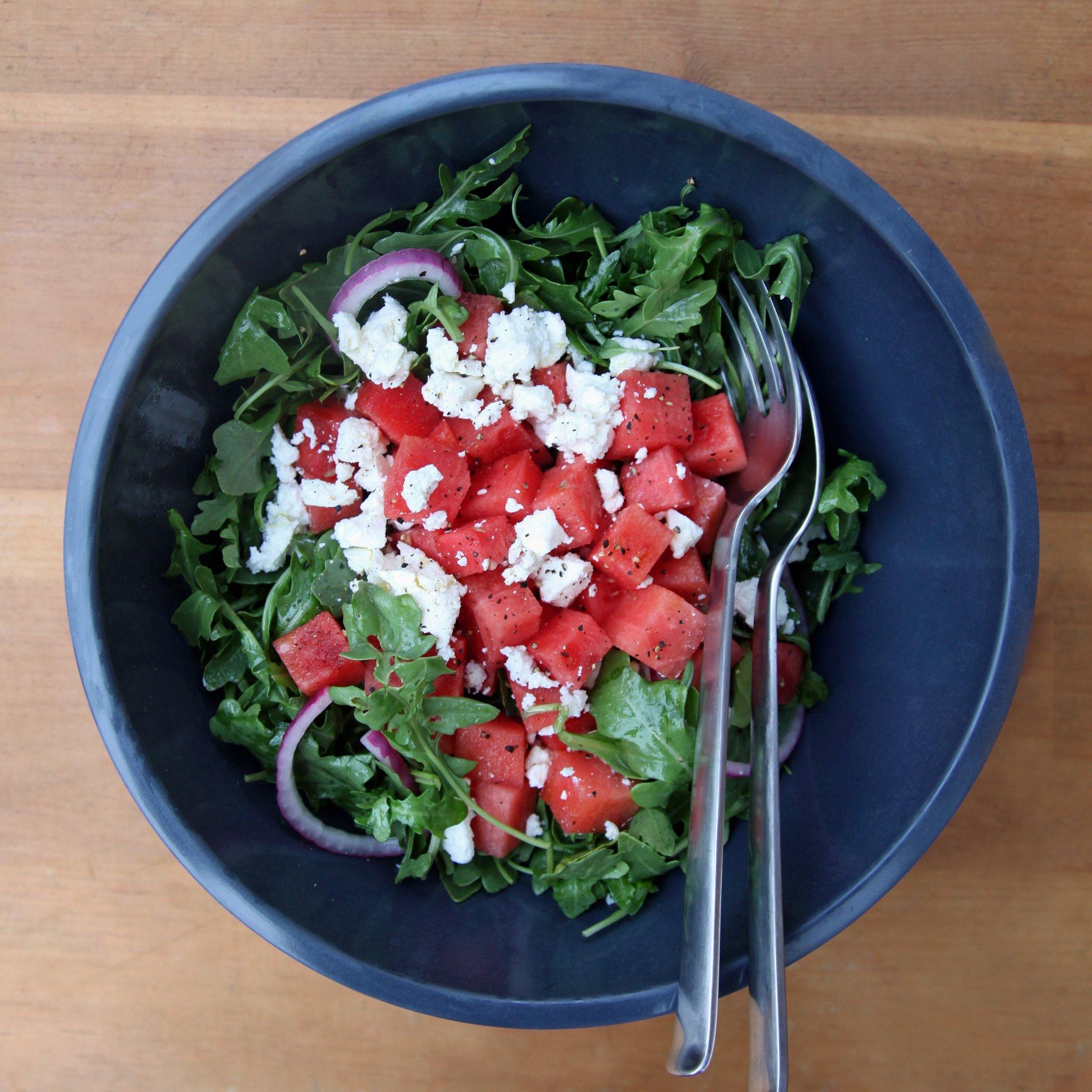 A legfinomabb dinnyés saláta, amit el kell készítened a nyáron