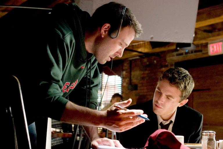 Ben Affleck és Casey Affleck a Hideg nyomon c. film forgatásán (Fotó: Profimedia)