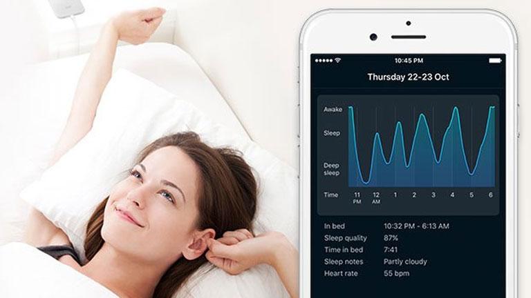 A SleepCycle segítségével könnyű az ébredés (Fotó: https://www.sleepcycle.com/)