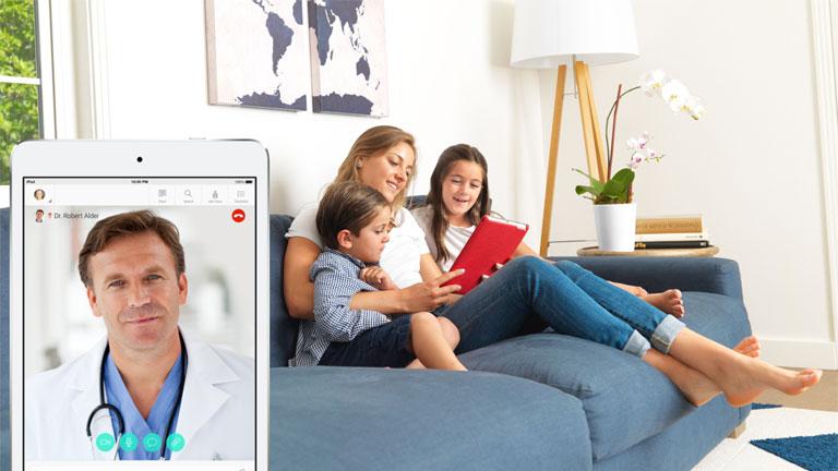 A HealthTap az egész családot elláthatja orvosi tanácsokkal (Fotó: https://www.healthtap.com/)
