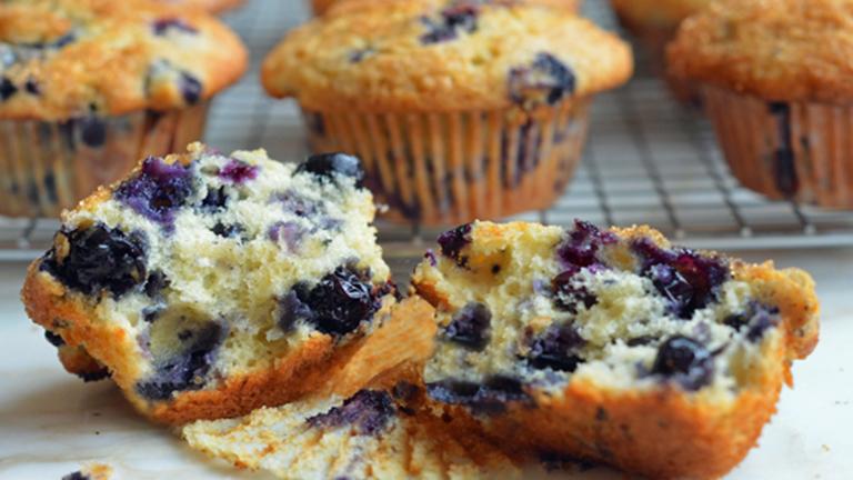 A világ legjobb áfonyás muffinja