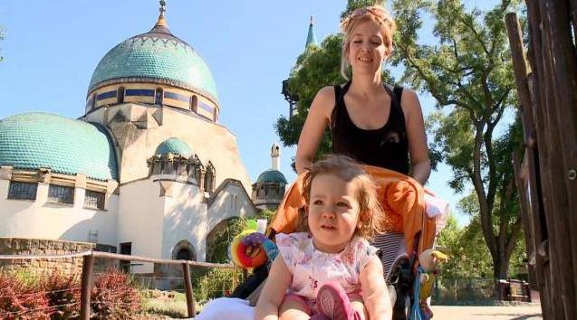 Kovács Patrícia kislánya, Hanna Lujza októberben lesz 4 éves