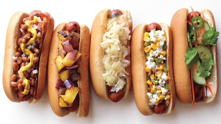 A hot dognak sokféle ízletes vegetáriánus változata is előfordul (Fotó: Tumblr)