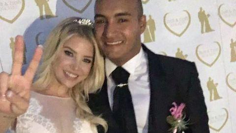 Szabó Zsófi és Kis Zsolt tavaly házasodtak, most Zsófi az első gyerekükkel várandós