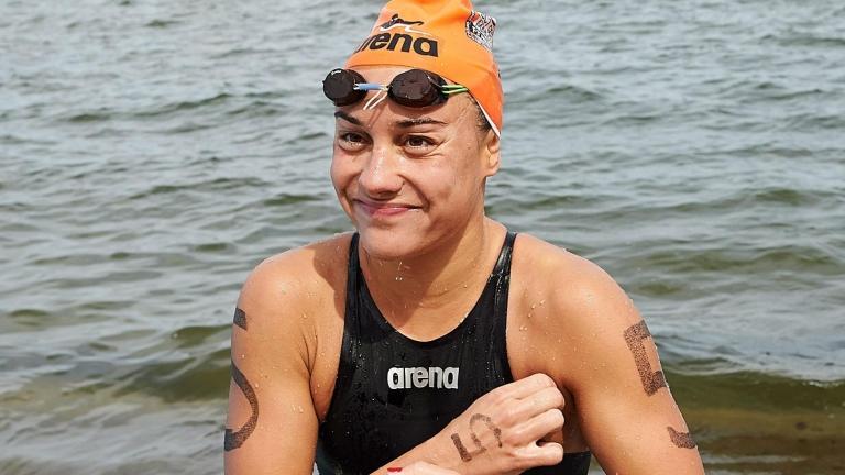 Olasz Anna (Fotó: MTI/PAP/Adam Warzawa)