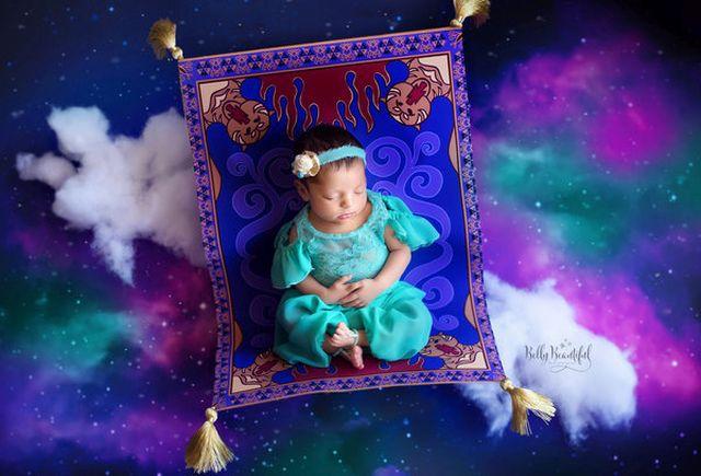 Végtelen cukiság: babák, mint icipici Disney hercegnők