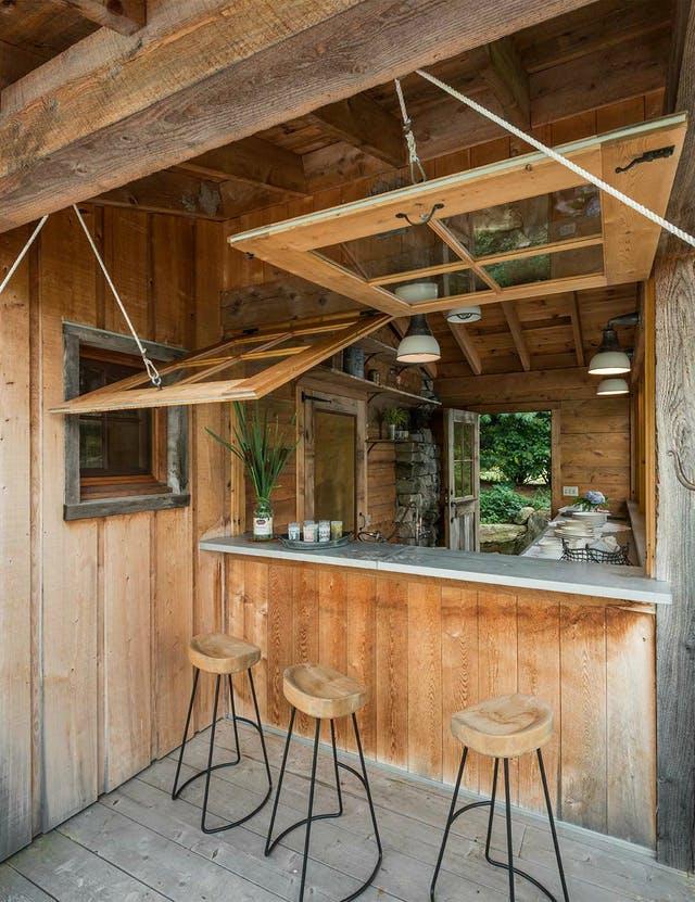 Menő inspirációk kerti bárpultokhoz