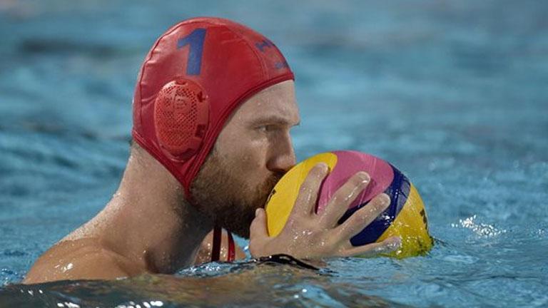 Nagy Viktor védett a döntőn is - MTI Fotó: Czagány Balázs
