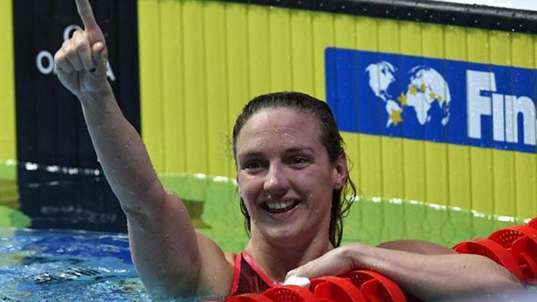 Vizes VB: Hosszú Katinka aranyérmes 400 vegyesen