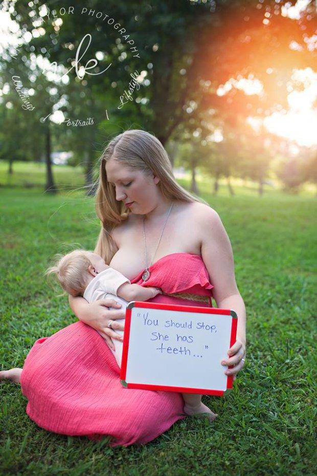 Döbbenetes fotósorozat mutatja meg, hogyan gyalázzák a szoptatós anyukákat
