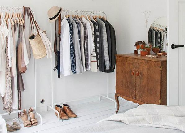 Így csinálj rendet a szekrényedben a legegyszerűbb módon