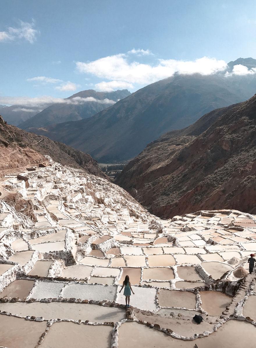 Hihetetlen fotók Peru lenyűgöző sótavairól