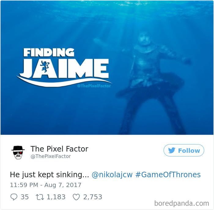 Zseniálisan reagált az internet a Trónok Harca legújabb epizódjára