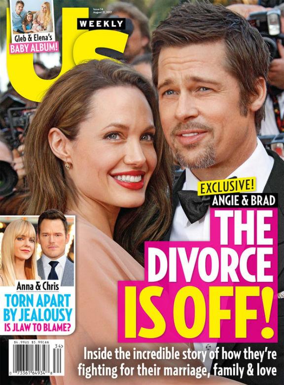 Nagy fordulat: Angelina Jolie és Brad Pitt lefújta a válást