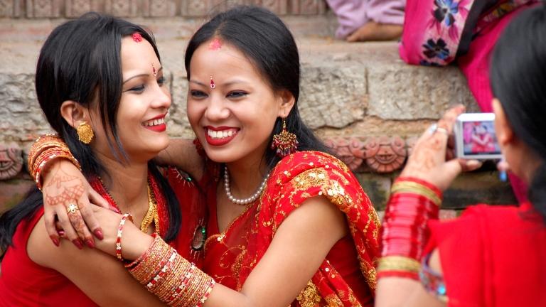 Nők Nepálban (fotó: Tumblr)
