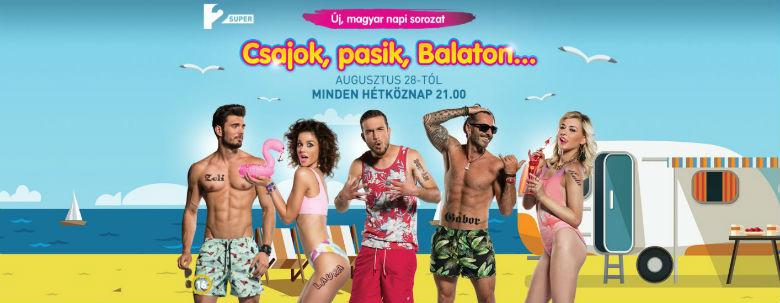 Csajok, pasik Balaton augusztus 28-tól látható a SuperTV2 műsorán