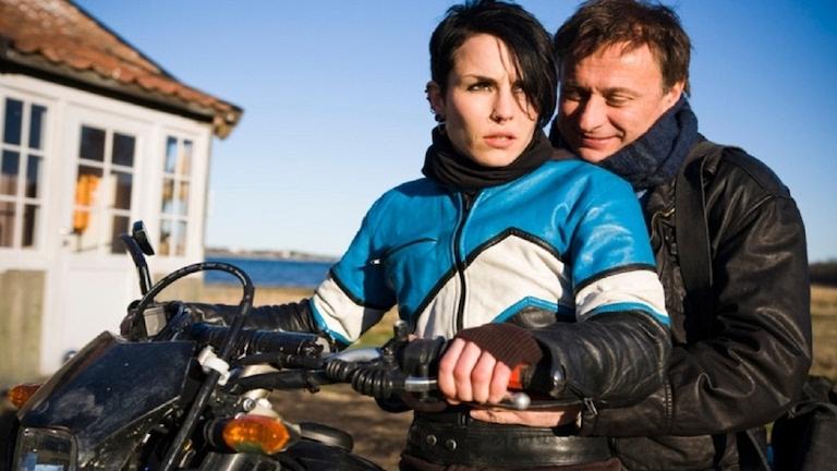 Noomi Rapace és Michael Nyqvist A tetovált lányban (2009)