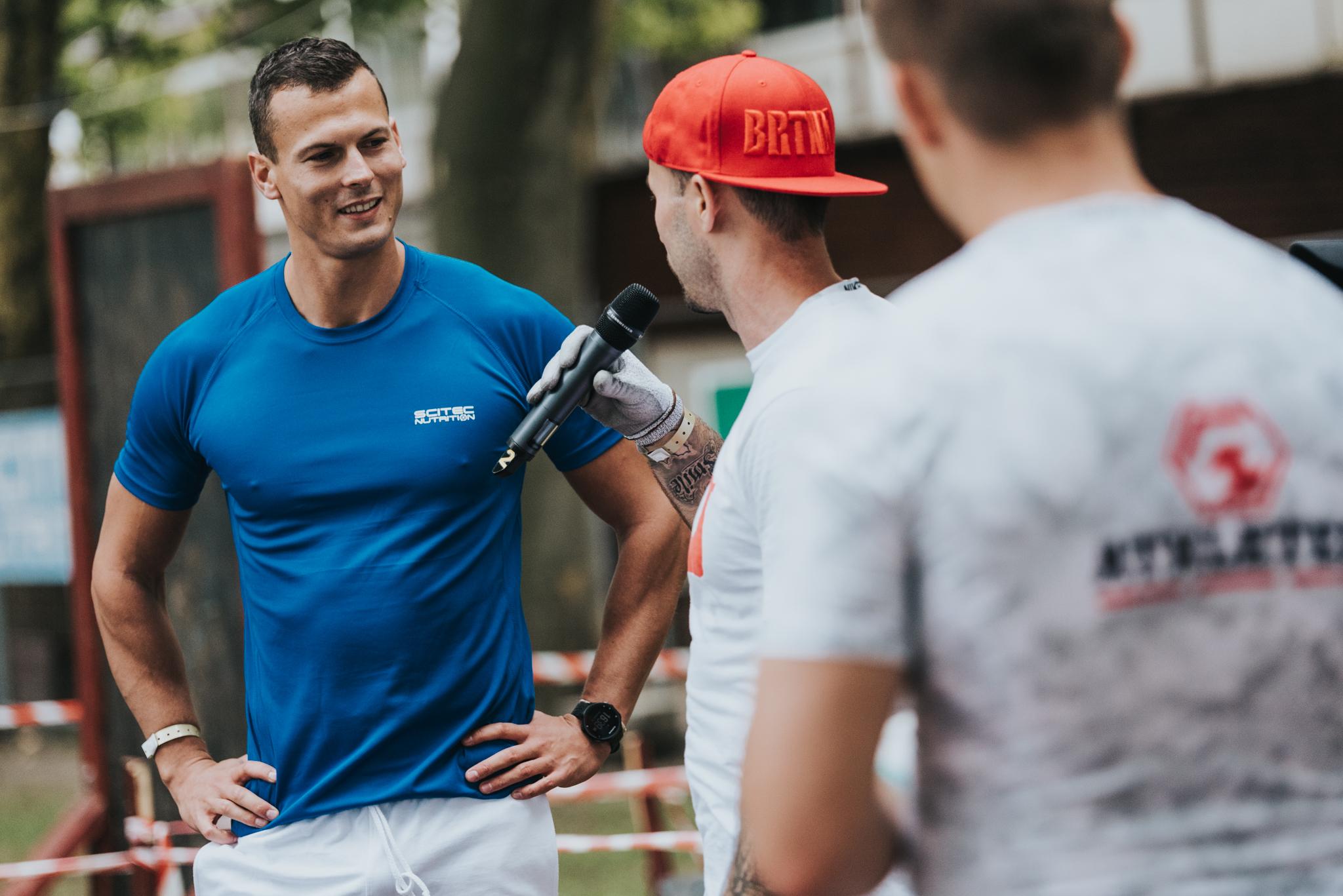A VB bronzérmes Baji Balázs a verseny utáni első nyilvános rendezvényén