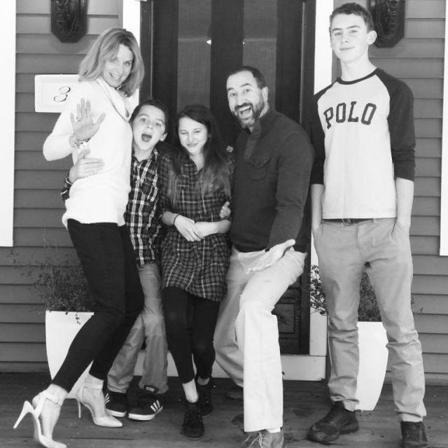 Katie Smith és családja