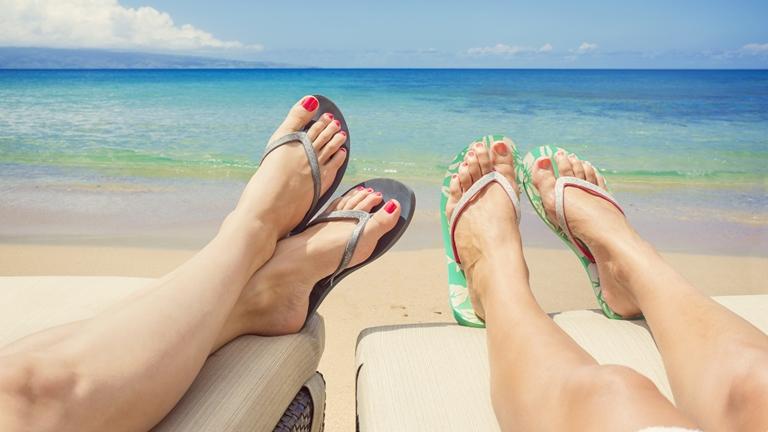 Ápolt lábak nyáron - így csináld