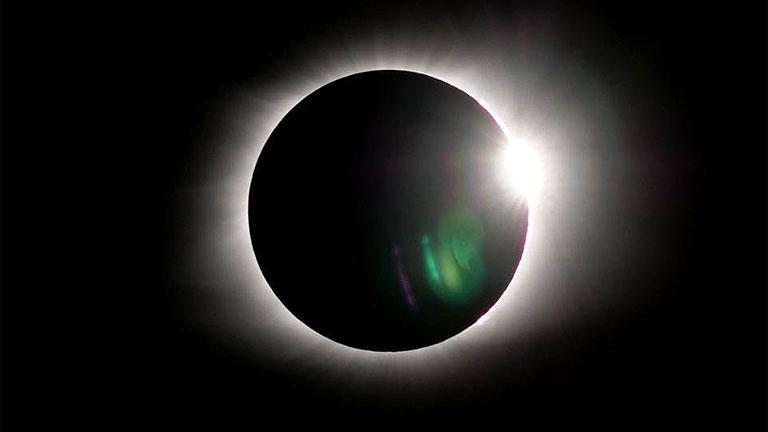A 2017-es napfogyatkozás a Tennessee állam fővárosából, Nashville-ből (Fotó: Bobby Marko/markovisual.com)