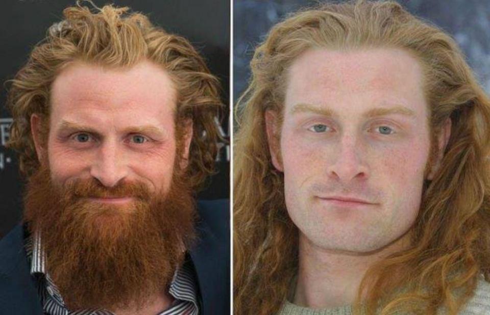 Így fest a Trónok harca vadembere szakáll nélkül
