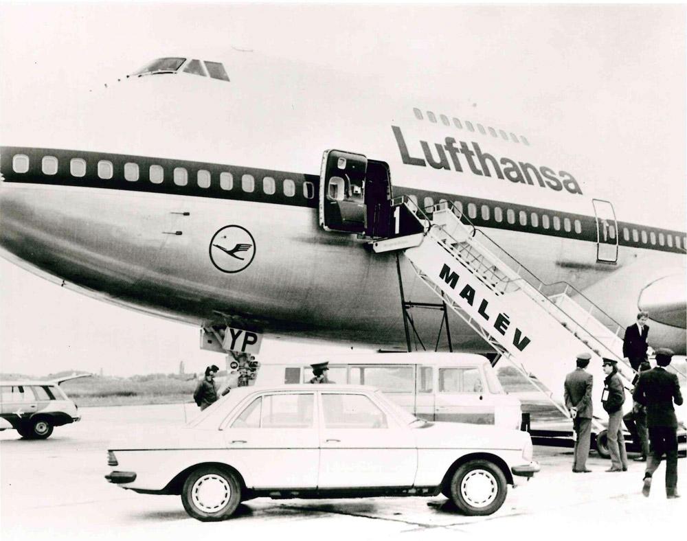 Az első Boeing 747 Budapesten 1995.06.05
