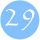 Születésnap-számok 1-től 31-ig