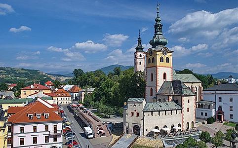 A Felvidék egyik legszebb főtere (Fotó: Slovakia Tourism)