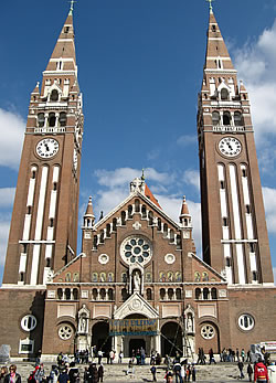 A kettős tornyú Fogadalmi Templom